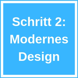 Modernes Homepage Design
