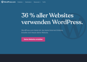Wordpress als Content Management System
