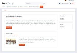Shopware Blog integrieren